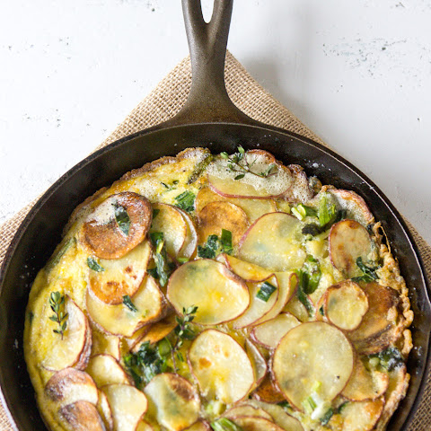 Ramp Frittata with Asparagus and Potatoes