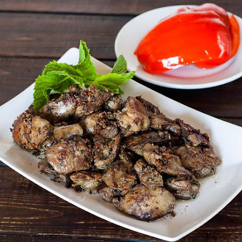 Lebanese Chicken Liver