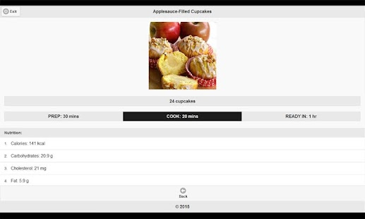 CookBook: Dessert Recipes 3 - screenshot