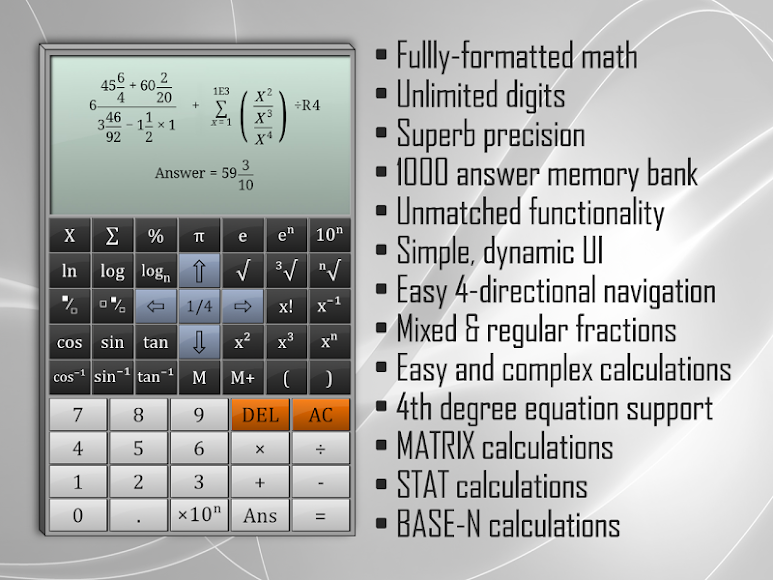 Full Scientific Calculator 1.8