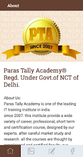 Paras Tally Academy - screenshot