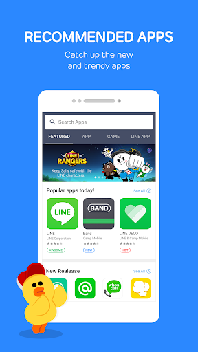 LINE Launcher screenshot 7