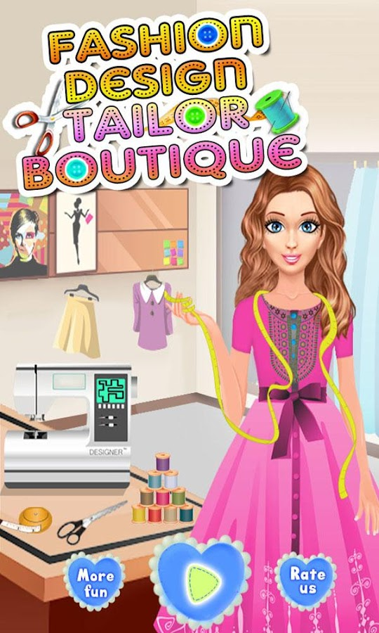 Fashion Design Tailor Boutique Screenshot