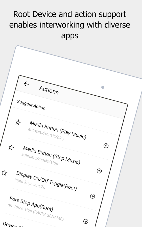 AUTOSET (Android Automation Device Settings) Screenshot 19