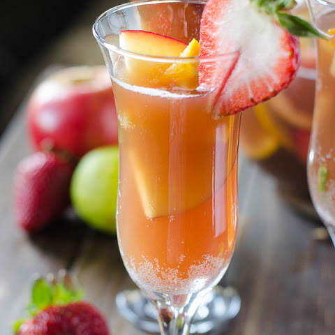 Brunch Sangria Mimosas #BrunchWeek