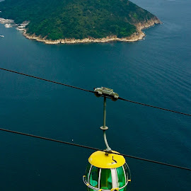 My cable Car rides..... by Rosafe Soliven - Transportation Other