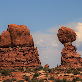 At Arches by Barbara Horner - Landscapes Travel ( park, rock, scenery, landscape )