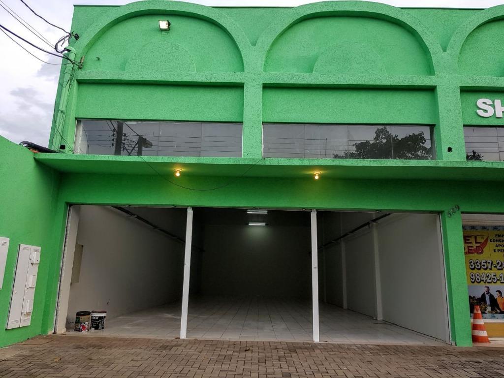 Barracão comercial para locação, Jardim Londrilar, Londrina.