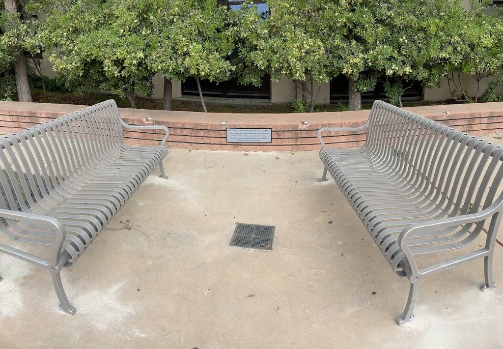 Six Feet Apart We Sit In Solidarity: This Installation Stands In Honor Of The Class Of 2020 Who Did Not Get To Finish Their Senior Year On Campus And The Berkeley High Community Who Made It Through ...