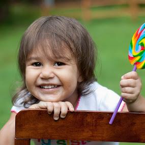 Lollipop by Ashley Rodriguez - Babies & Children Child Portraits