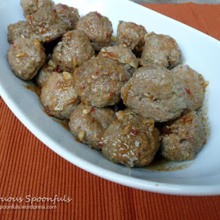 Spicy Asian Ginger Meatballs