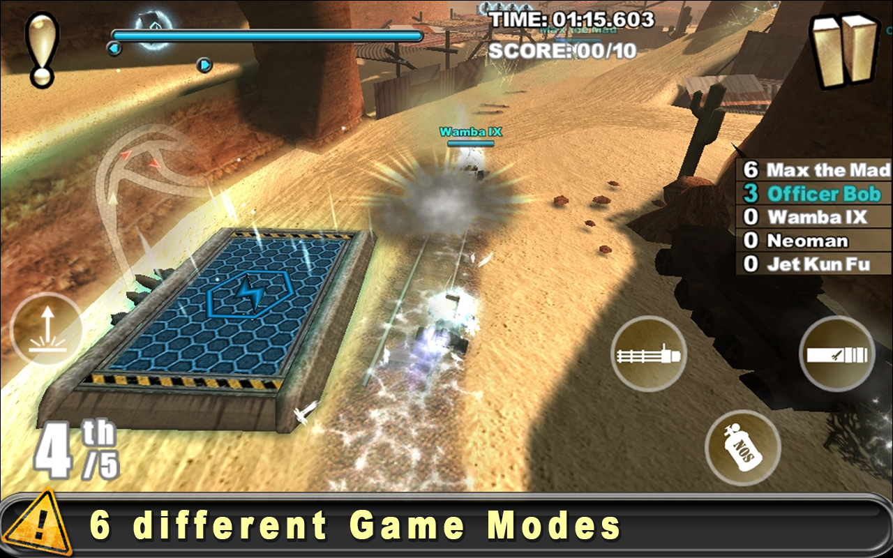 Cracking Sands - Combat Racing (Unreleased) Screenshot 2