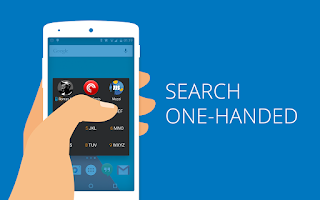 Screenshot of AppDialer T9 app/people search