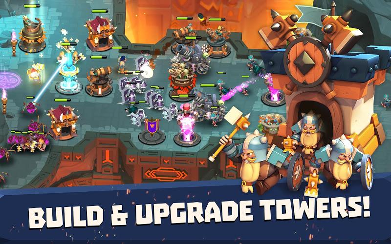 Castle Creeps TD - Epic tower defense Screenshot 14