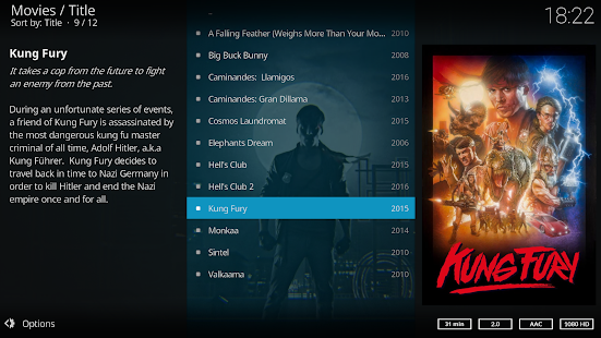 App Kodi APK for Kindle