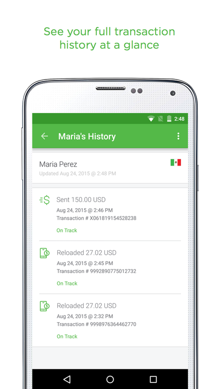 Xoom Money Transfer Screenshot 5