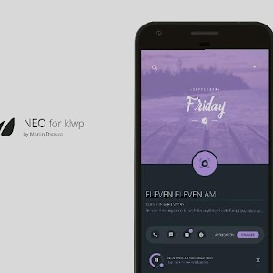 NEO for KLWP APK Cracked Download