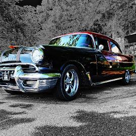 StarChief by JEFFREY LORBER - Transportation Automobiles ( 1950's, 1955 pontiac, lorberphoto, 1955, rust 'n chrome, starchief, pontiac, jeffrey lorber,  )