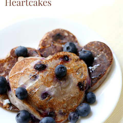 Blueberry Heartcakes