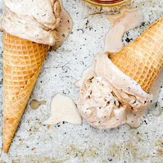 Bourbon and Brown Sugar Ice Cream