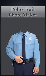 My Police Suit Photo Maker- screenshot thumbnail