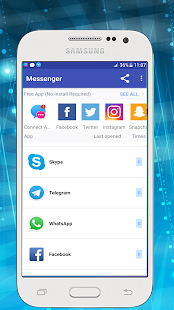 Messenger for All Social Networks