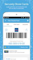 Screenshot of Key Ring: Cards Coupon & Sales