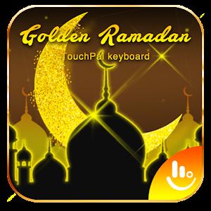 Golden Ramadan Keyboard Theme For PC