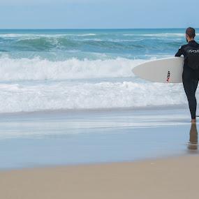 Surf by Denis Sinoussi - Sports & Fitness Surfing ( surfing, surfer, waves, beach, board, surf,  )