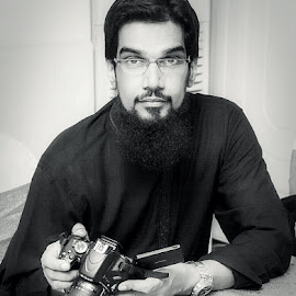 by Usman Khalid - People Portraits of Men ( style, black and white, camera, men,  )