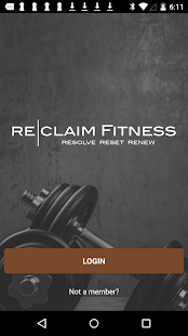 Reclaim Fitness - New Lenox Fitness app screenshot for Android