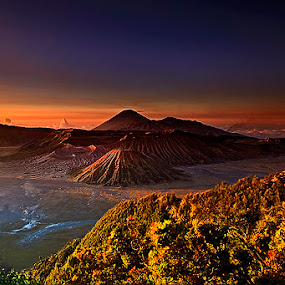 MORNING COLOURFULL BROMO by Arif Otto - Landscapes Sunsets & Sunrises ( #mountain #bromo#sunrise#colourfull#arifotto2002,  )