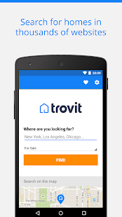 Real Estate sale & rent Trovit for pc