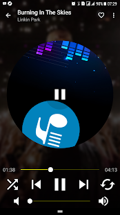 Musicpower - Music Player and Lyrics (free ads) Screenshot