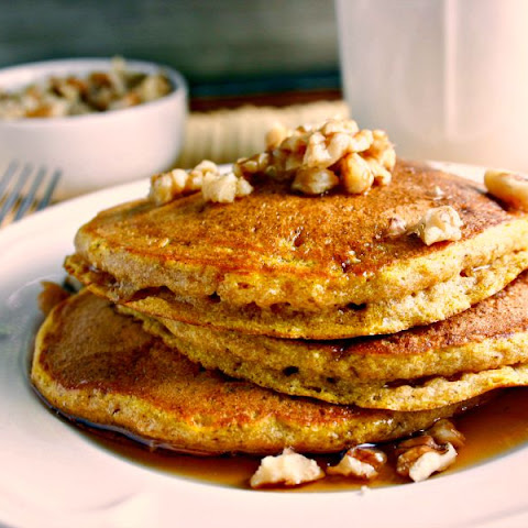 Pumpkin Walnut Flapjacks