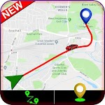 GPS Personal Route Tracking : Trip Navigation Icon