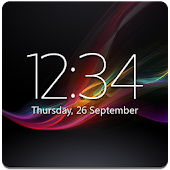 Digital Clock Widget Xperia APK for Lenovo