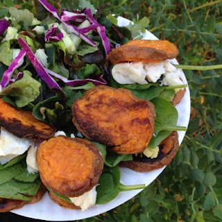 Salmon and Sweet Potato Sliders