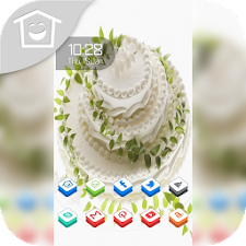 Fresh and delicious cake theme