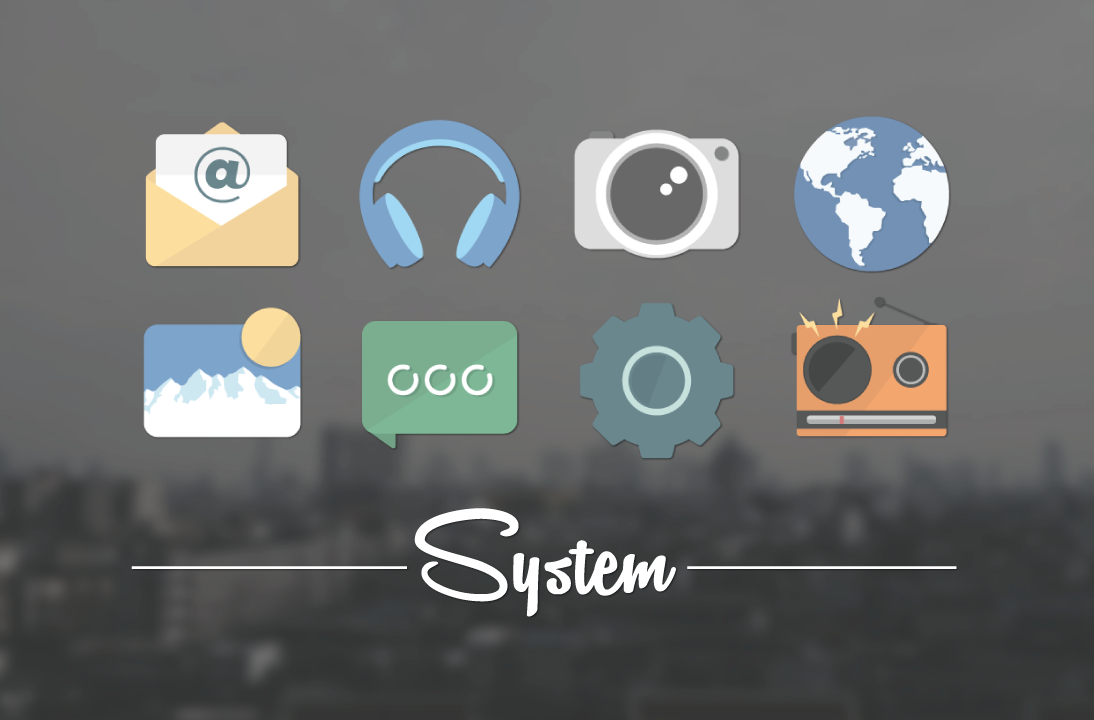 Magme - Icon Pack Screenshot 1