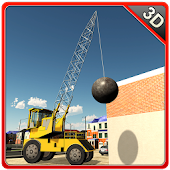 Wrecking Ball Crane Simulator APK for Bluestacks