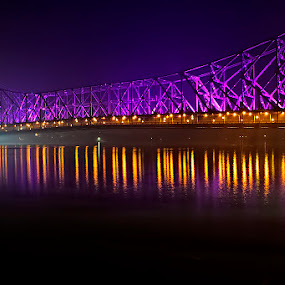 Howrah Bridge by Chiradeep Mukhopadhyay - Buildings & Architecture Bridges & Suspended Structures