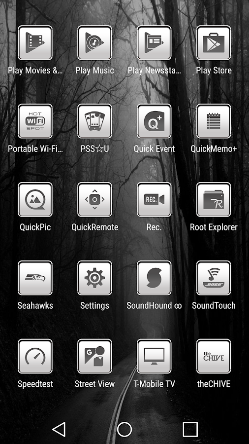 oNe1 White - Icon Pack Screenshot 5
