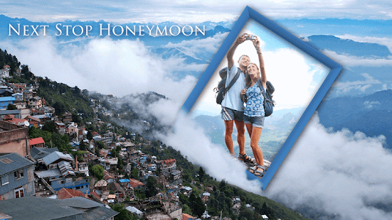 Honeymoon Photo Frames - screenshot