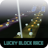 Map Lucky Block Race For MCPE Icon