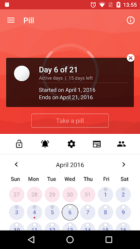 Pill Reminder, Birth Control screenshot 2