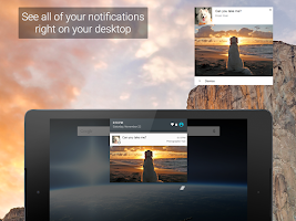 Screenshot of Pushbullet