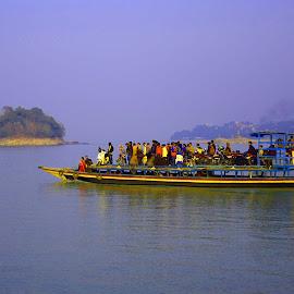 boats by SANGEETA MENA  - Transportation Boats