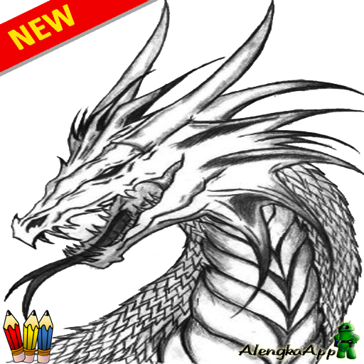 Sketch Of Learning To Draw Dragon Apk 2 0 Download Free Art Design Apk Download