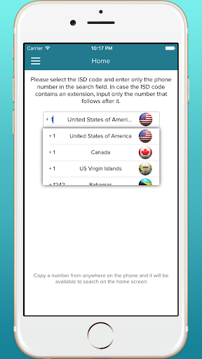 Mobile Number Caller Search - screenshot